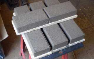 Технология изготовления брусчатки