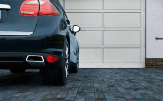 Как провести укладку тротуарной плитки для парковки?