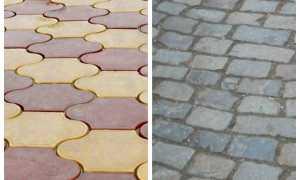 Брусчатка или тротуарная плитка. Что лучше?