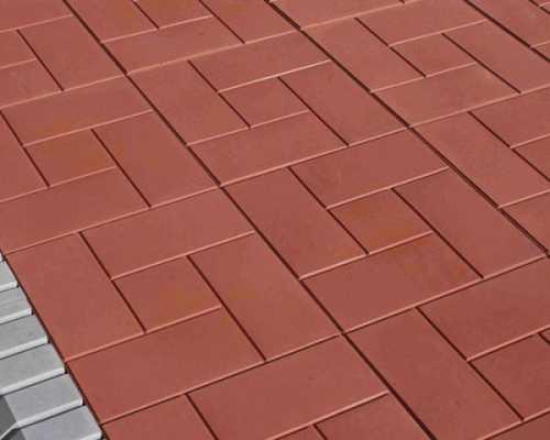Характеристика и сфера применения тротуарной плитки Калифорния