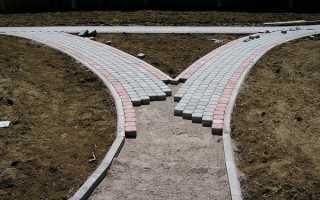 Применение гарцовки как материала для укладки тротуарной плитки
