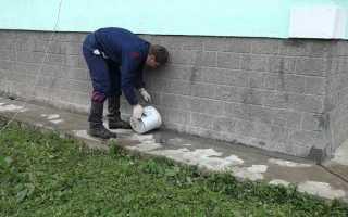 Технология ремонта отмостки вокруг дома своими руками
