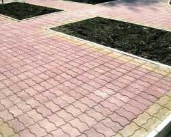 Уклон тротуарной плитки