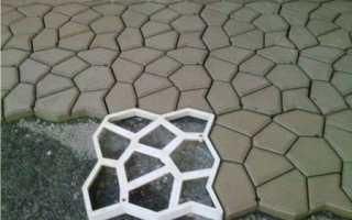 Создание форм для тротуарной плитки: виды, особенности изготовления