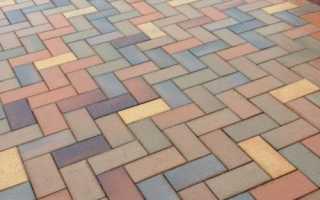 Способ изготовления и разновидности тротуарной плитки кирпичик