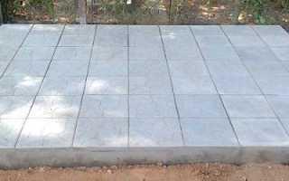 Как укладывается тротуарная плитка на кладбище