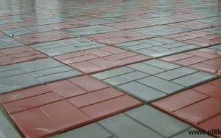 Вес тротуарной плитки 8 кирпичей 400х400х50