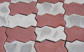 Укладка тротуарной плитки «Волна»