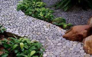 Как выбрать и уложить натуральный камень для дорожек?