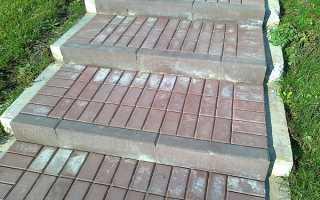 Причины высолов на тротуарной плитке и способы их чистки