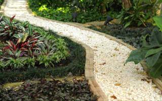 Из чего сделать и как правильно оформить гравийные дорожки?