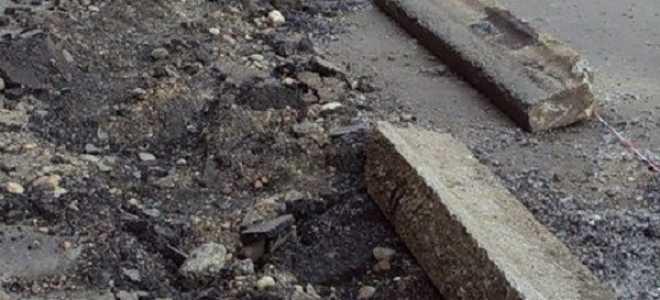 Как правильно выполнить демонтаж бордюрного камня