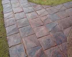 Тротуарная плитка под камень