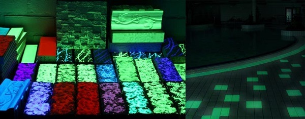 фото производства светящийся плитки