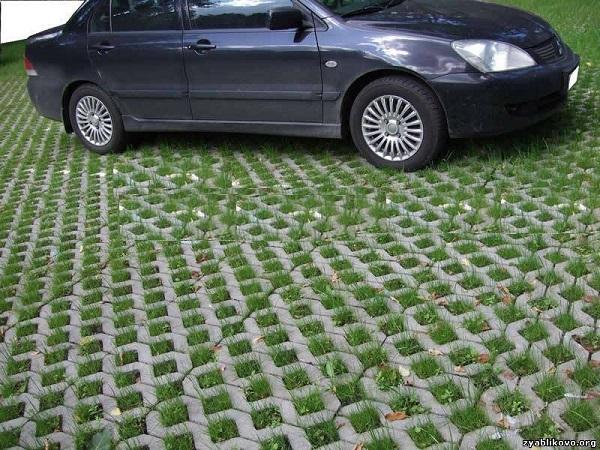 фото тротуарной плитки с отверстиями