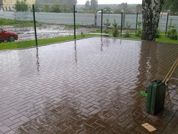 фото калифорнии в дождь
