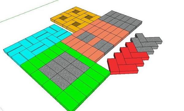 фото схемы раскладки