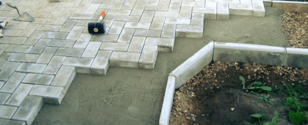 фото кладки на старый бетон