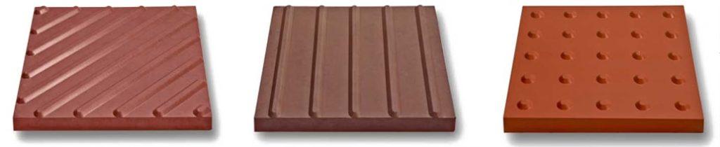 фото рифления бетонной тактильной плитки