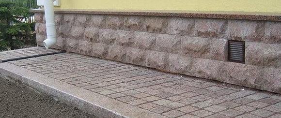 надобность водостока для тротуарной плитки