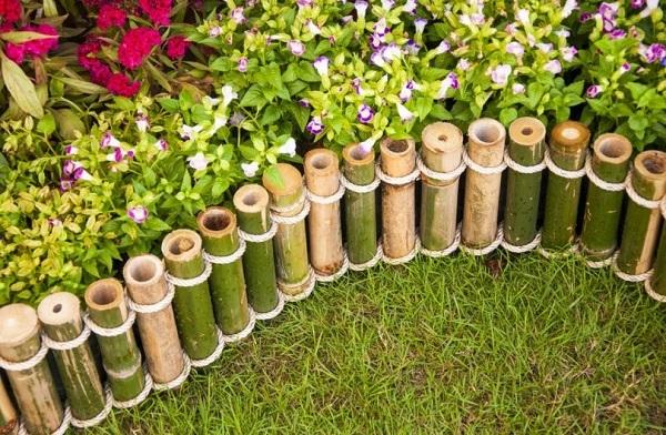 ограждения из бамбука