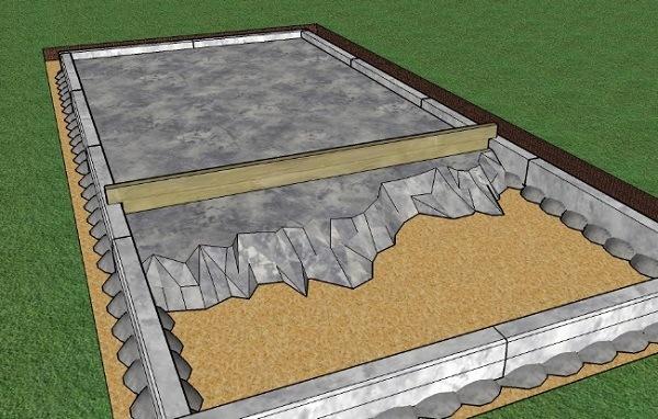 технология укладки на песок