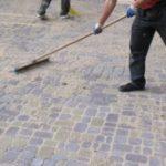 Как сделать отмостку из тротуарной плитки? Укладка, Вокруг дома