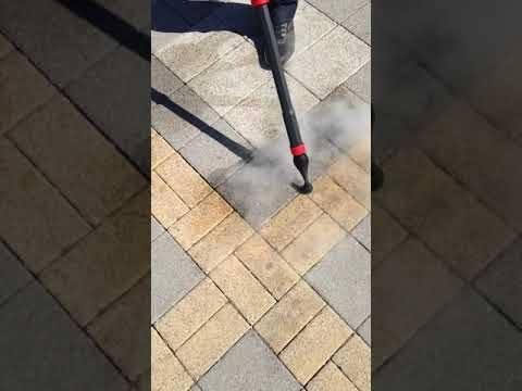 удаление засохшей живательной резинки из тротуарной плитки