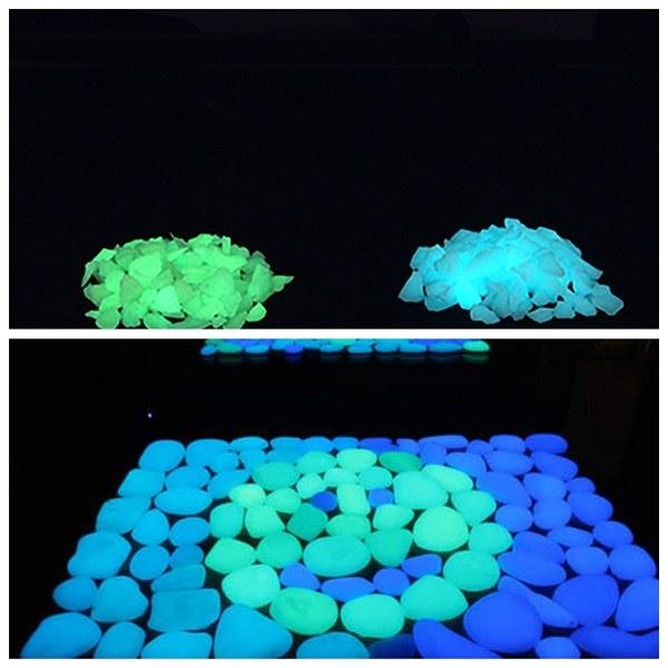 виды светящихся камней