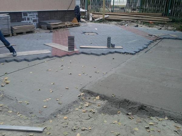 бетонирование асфальта