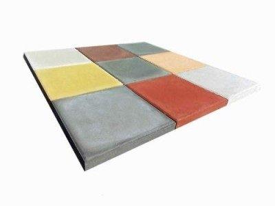 виды тротуарной плитки 400х400х50