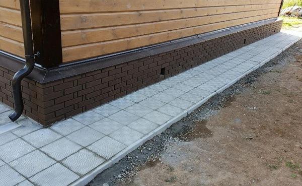 Облицовка из тротуарной плитки