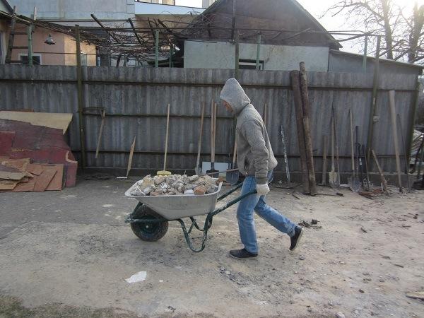 погрузка и вывоз отходов